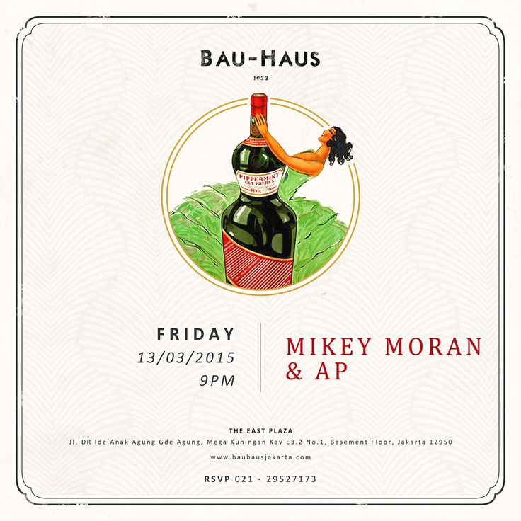 Back in @bauhausjakarta THIS FRIDAY THE 13TH dropping some Rnb Tunes! Lets kick it back to the ol skool... Set time at 12am... Spread the word, bring ur crews and lets boogie together there #triggerjkt #bauhaus #djmikeymoran #rnb #hiphop #twerk