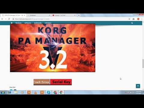 KORG PA Manager 3 2 Activation Code Full Download | Korg in