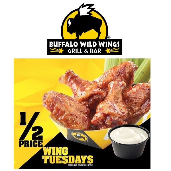 photograph about Buffalo Wild Wings Printable Menu named Coupon buffalo wild wings - Park dental st paul