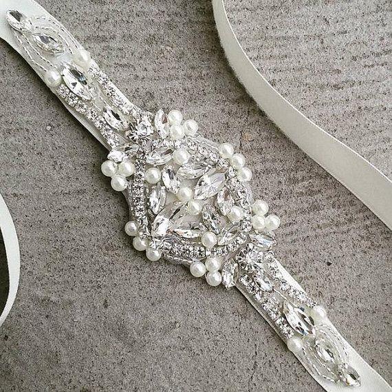 Crystal parels Rhinestone bruids hoofdband bruiloft