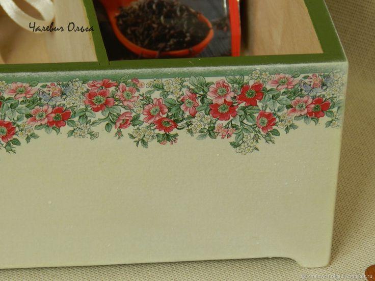 Купить Шкатулка Шиповников цвет в интернет магазине на Ярмарке Мастеров