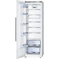 Frittstående kjøleskap fra Bosch med høyt innvendig volum, LED-belysning og energiklasse A+.
