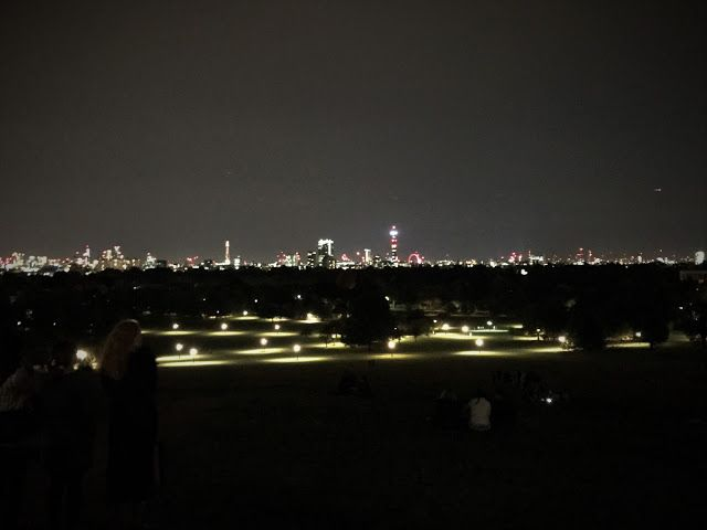 Panoramic view of London from Primrose Hill. See more on what to do (and where to eat) for a romantic, long weekend in London!  Click or visit FabEveryday.com for reviews, recommendations and tips for a quick getaway to this fabulous city with your partner.