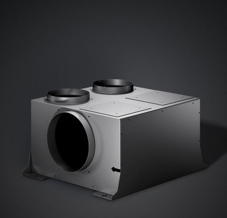 Kitchen remote fan unit by gaggenau revuu appliances for Remote kitchen exhaust fan