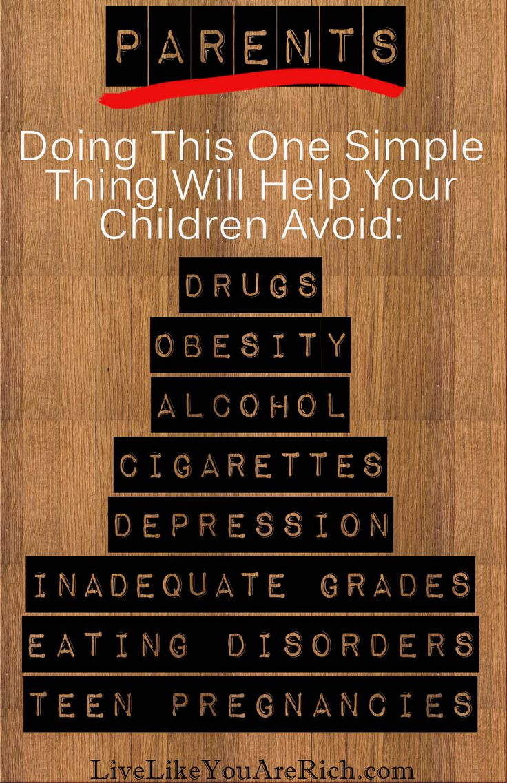 Great article for all parents to read.
