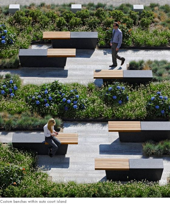 custom benches within auto court island. 25  best ideas about Urban Furniture on Pinterest   Street