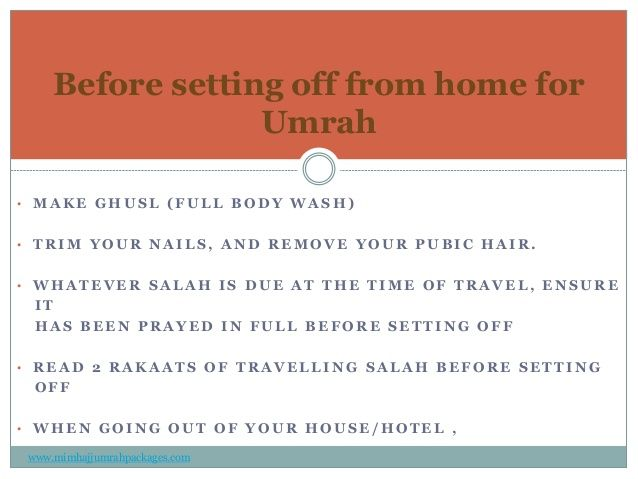Step By Step Umrah guide and the Procedure Of Umrah- slide2