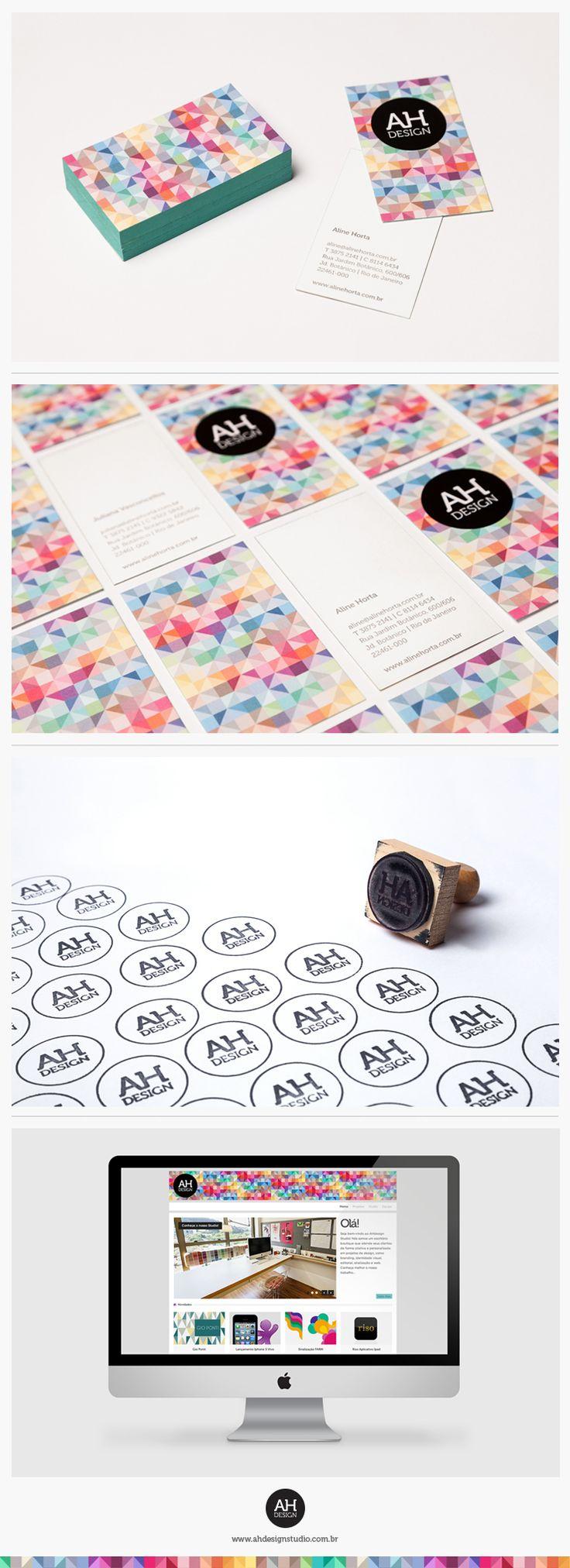 AHdesign Studio, Identidade Visual Institucional #design, #graphicdesign…