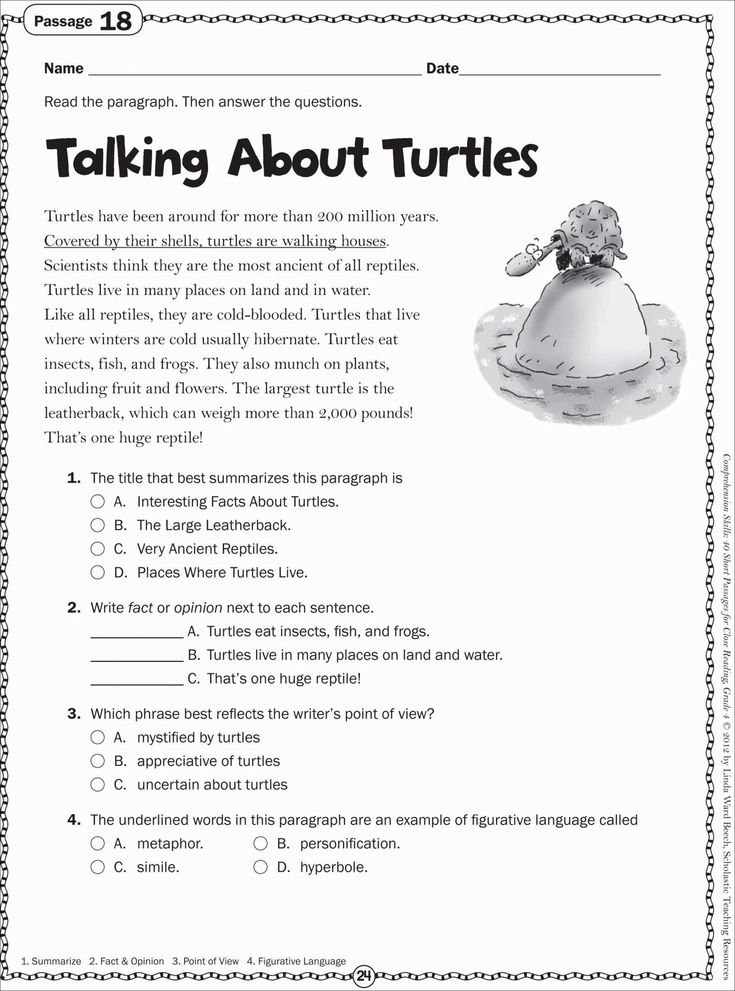 free printable reading worksheets for 2nd grade Best of free printable …  Free reading