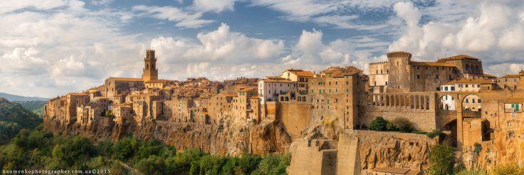 Фотограф Александр Науменко (Aleksandr Naumenko) - Италия. Тоскана. Город на скалах Pitigliano #1564522. 35PHOTO