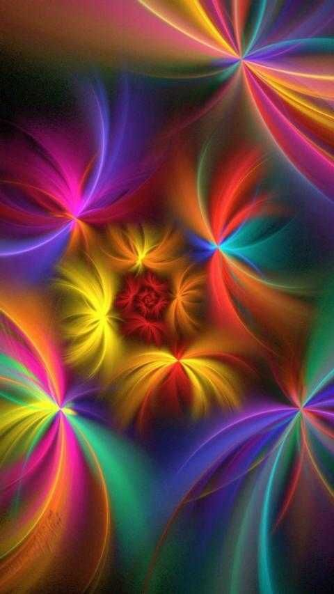 Download 7000 Wallpaper Abstrak Warna Warni HD