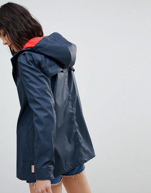 Hunter Lightweight Rubber Raincoat