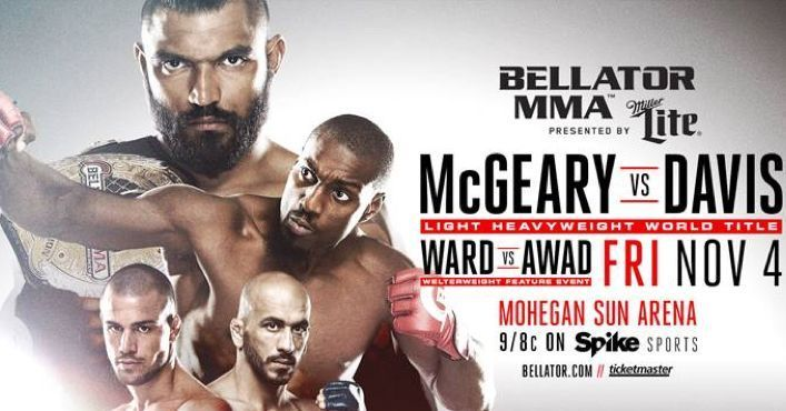 "I really wanted to beat Liam Mcgeary @liammcgeary1 He was a good champion and I really dug deep in my training to get there and now I feel like I have to raise that bar another notch and say Hey heres a guy who defeated me before and were going to come out and were gonna have an even better performance than we did when we fought #LiamMcGeary and took the belt from him.""  Phil ""Mr. Wonderful"" Davis @philmrw  #Bellator #BellatorNYC #Bellator180 #BellatorMMA #SonnenvsSilva #SilvavsSonnen…"