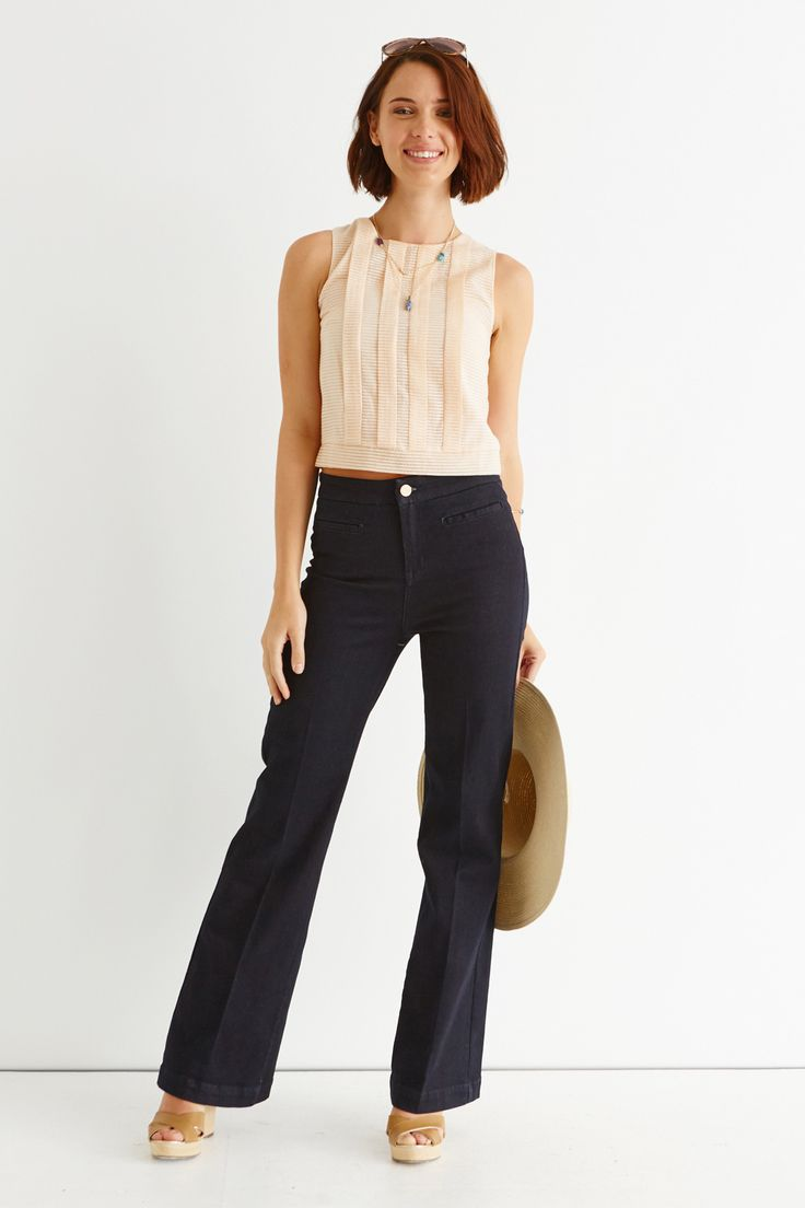 Fashion Must Haves: Meet The Sabrina Flared Jean.