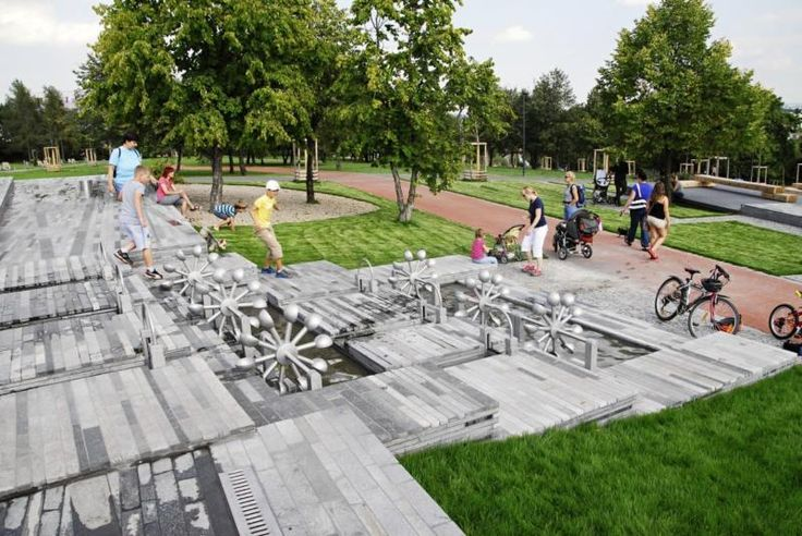 Interaktivní vychytávky v  malešickém parku. http://www.praha.eu