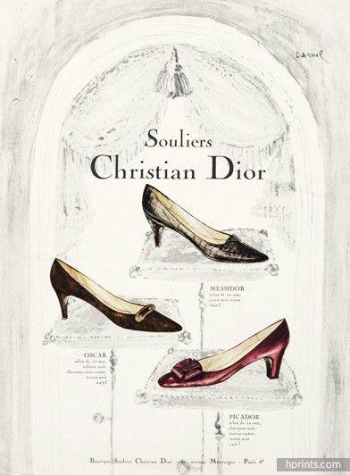 Christian Dior, 1965 Zapatos, los Zapatos de Patricia - El Blog de Patricia : #Shoebackthursday: Un paseo por algunos zapatos de Dior y de la historia del calzado.