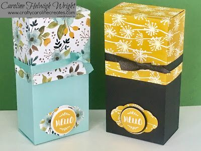 Whole Lot of Lovely - Large Gift Box Video Tutorial with Stampin' Up Products