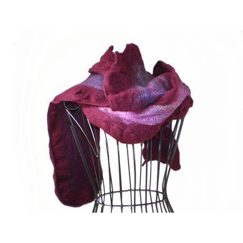 Hand Felted Scarf Australian Merino Wool and by MissTreeCreations, $100.00