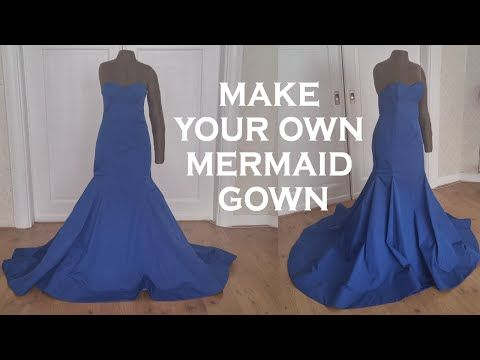 Unique DIY mermaid gown My Crafts and DIY Projects