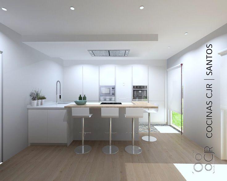 ✉️✉️miércoles✉️✉️.   #leonesp #cocinas #cocinascjr #kitchens #render #cocinassantos #diseño #deco