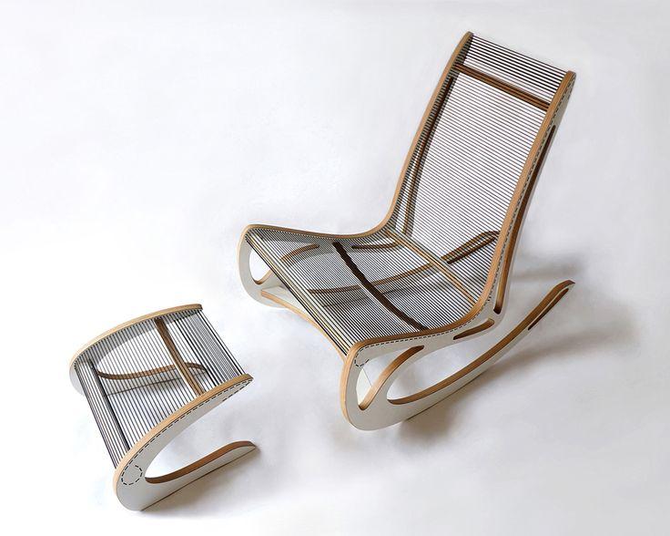 Qvist Rocking Chair par Peter Qvist - Blog Esprit Design