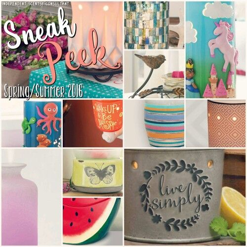 17 Best Images About Spring Summer Scentsy 2016 On