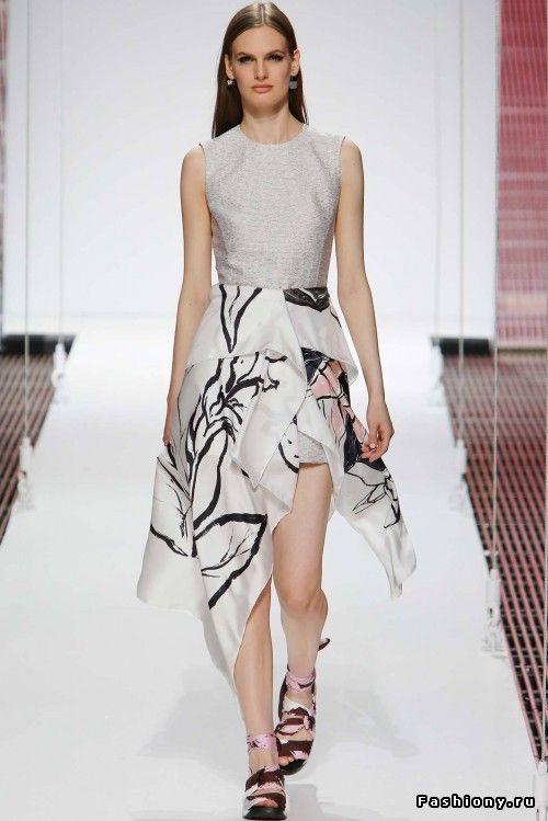 Christian Dior Круизная коллекция 2015 / одежда красивая dior
