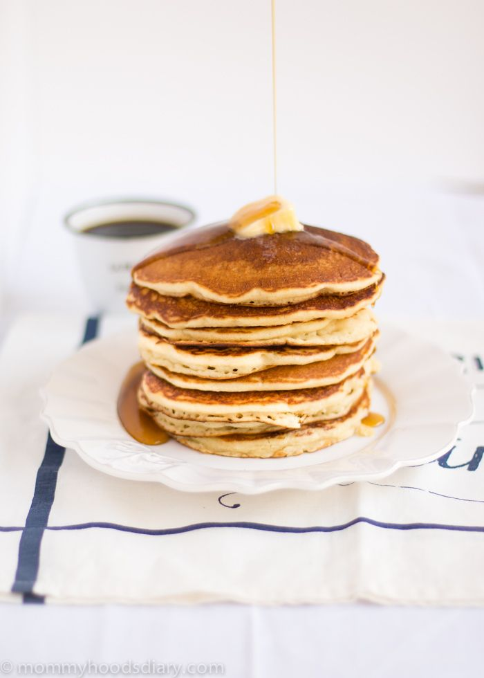 Egg-Free Pancakes Recipe. Super-fluffy and delicious