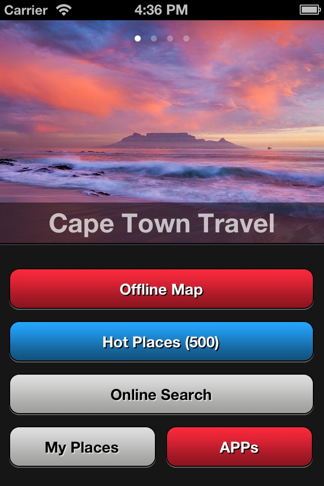 Cape Town Travel Map  (Travel) - http://www.ipadsadvisor.com/cape-town-travel-map-travel