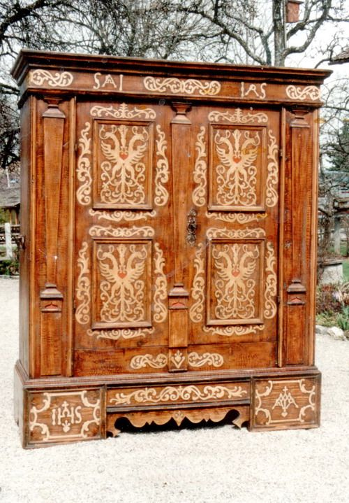 Restoration Of Rustic Furniture