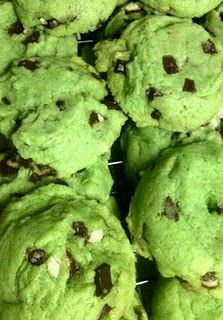 "Grinch Cookies-make and watch the grinch movie! Serve with ""grinch punch?"" For a chrismas time sleepover."