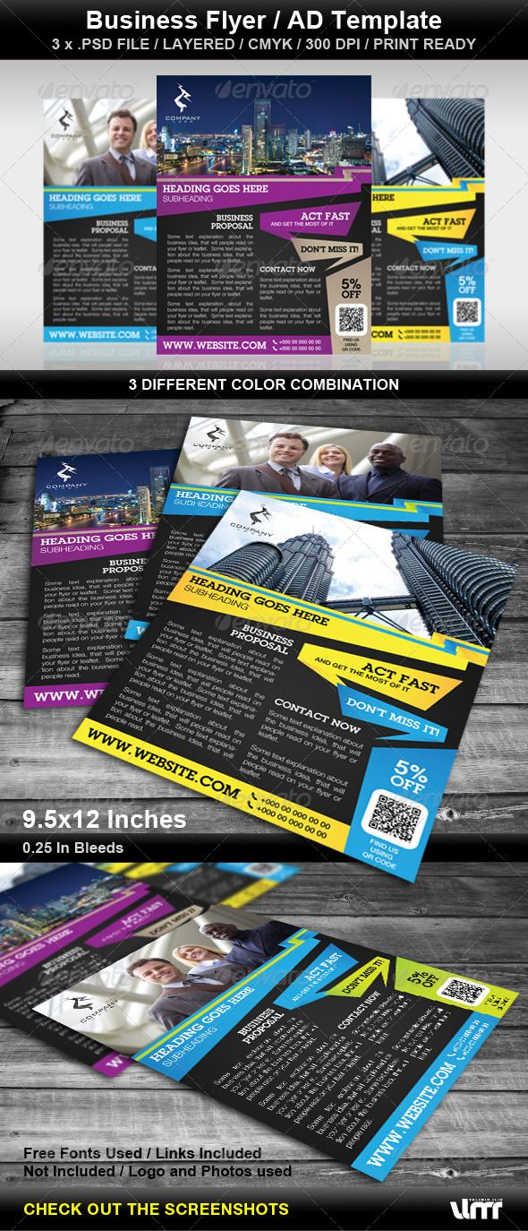 Business Flyer - AD Template
