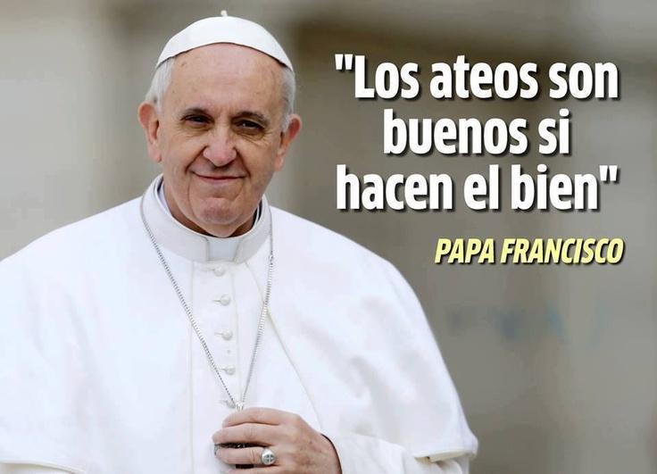 #PapaFrancisco hombre sabio <3