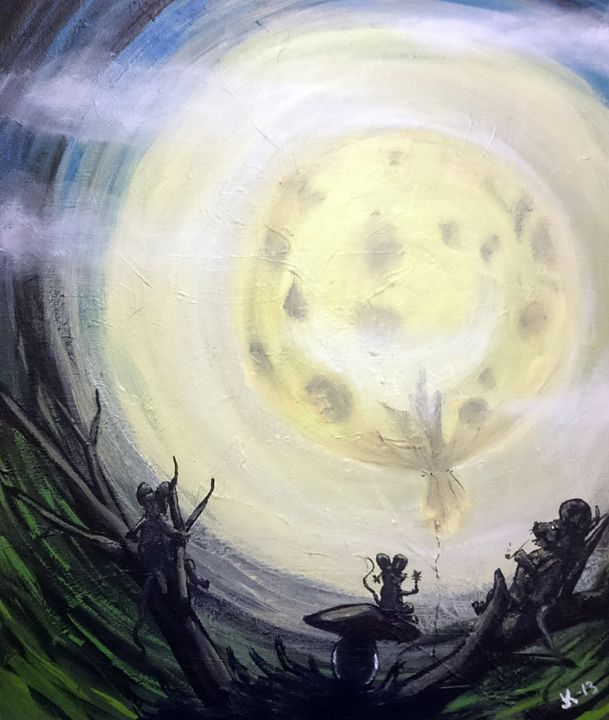 What is moon? - TiJa Art