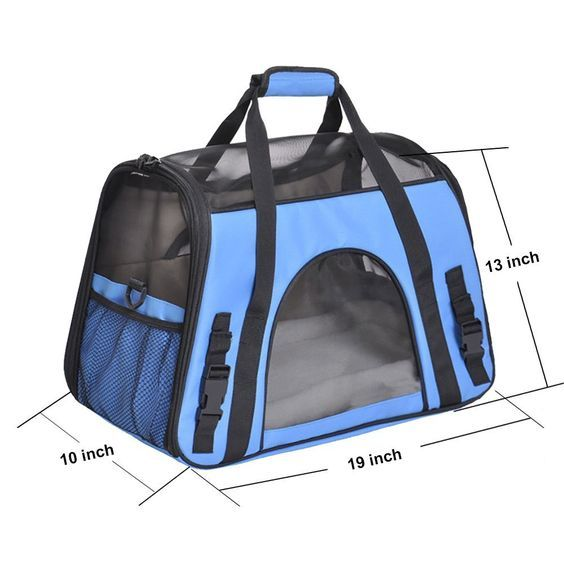 Pet Carrier, PYRUS Airline Approved Soft-Sided Kennel Cab Folding Soft Dog Crate Pet Travel Carrier Bag for Dogs Cats and Puppies -- See this great product.