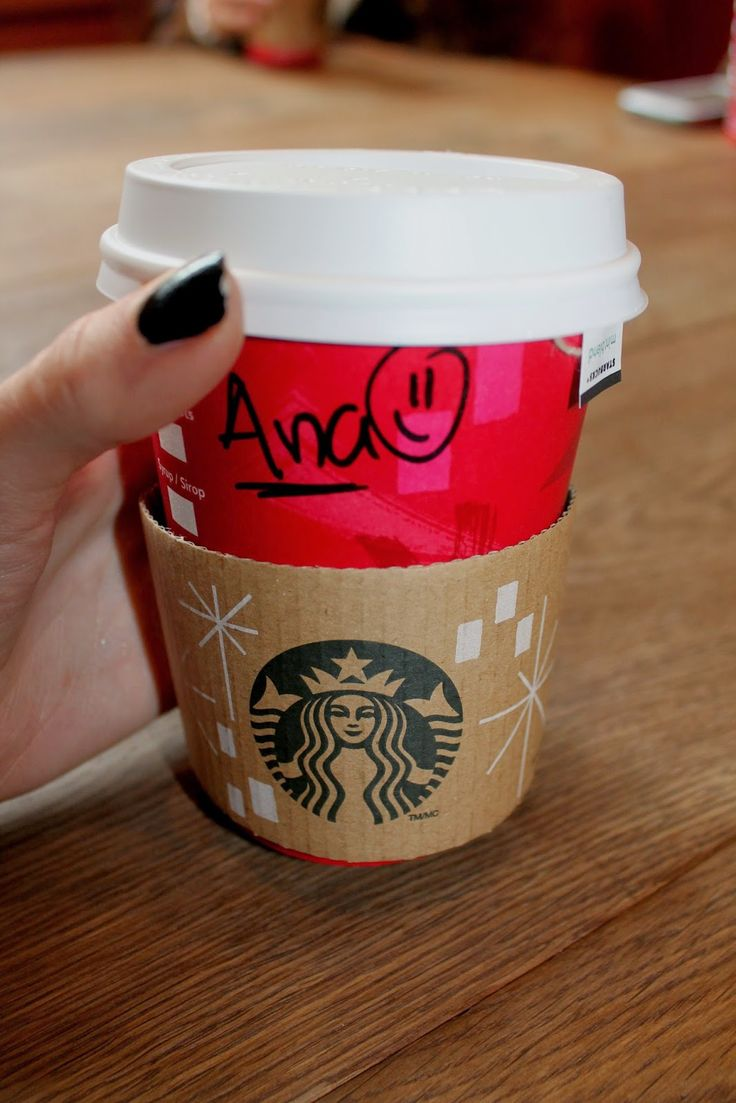 with love: Starbucks coffe