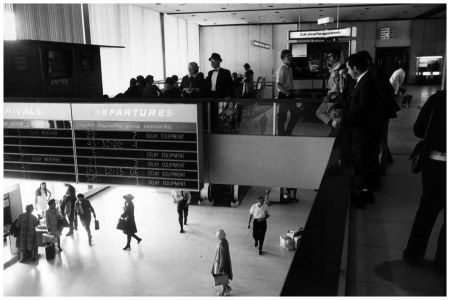 Untitled (T.W.A. Terminal), 1978, Garry Winogrand