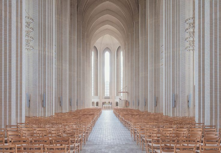Copenhagen Church Photography by Ludwig Favre https://mindsparklemag.com/design/copenhagen-church-photography/