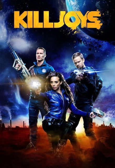 Killjoys (TV Series 2015– ) - In the Quad, a planetary system on the brink of a bloody interplanetary class war, a fun loving trio of bounty hunters attempt to remain impartial as they chase deadly warrants.