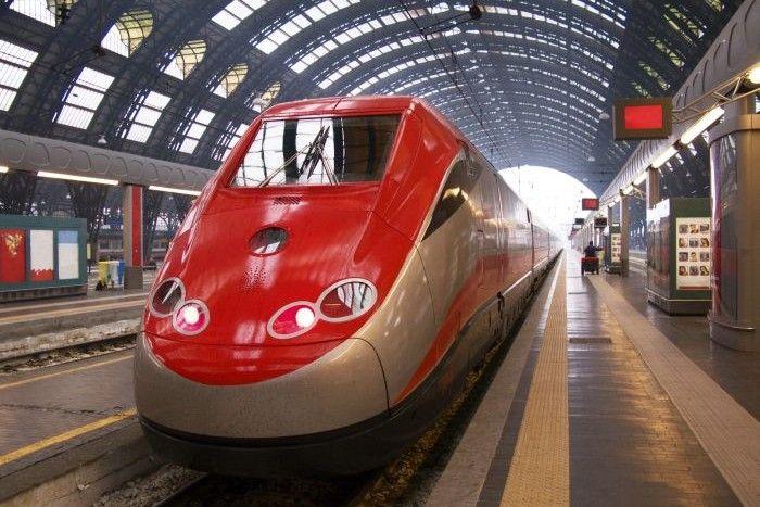 Trenitalia in Milan Central Station