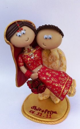 Indian Wedding Toppers, cake toppers #indianwedding #shaadibazaar