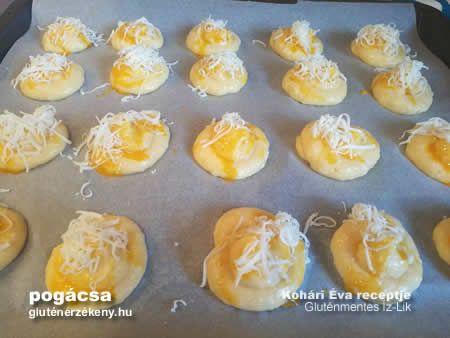gluténmentes sajtos pogácsa recept | Íz-Lik, Kohári Éva rovata