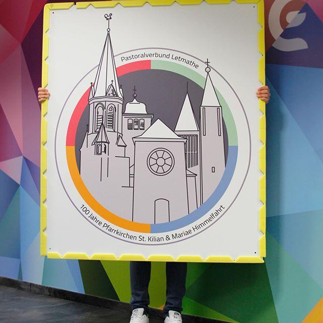 Pastoralverbund Letmathe, 100 Jahre Pfarrkirche St. Kilian & Mariae Himmelfahrt - http://www.budde-mediendesign.de #budde #mediendesign #kirche #letmathe #iserlohn #fotografie #logo #schilder #vektor #illustrator #100jahre #design #druck #foto #tapete #agentur #photooftheday