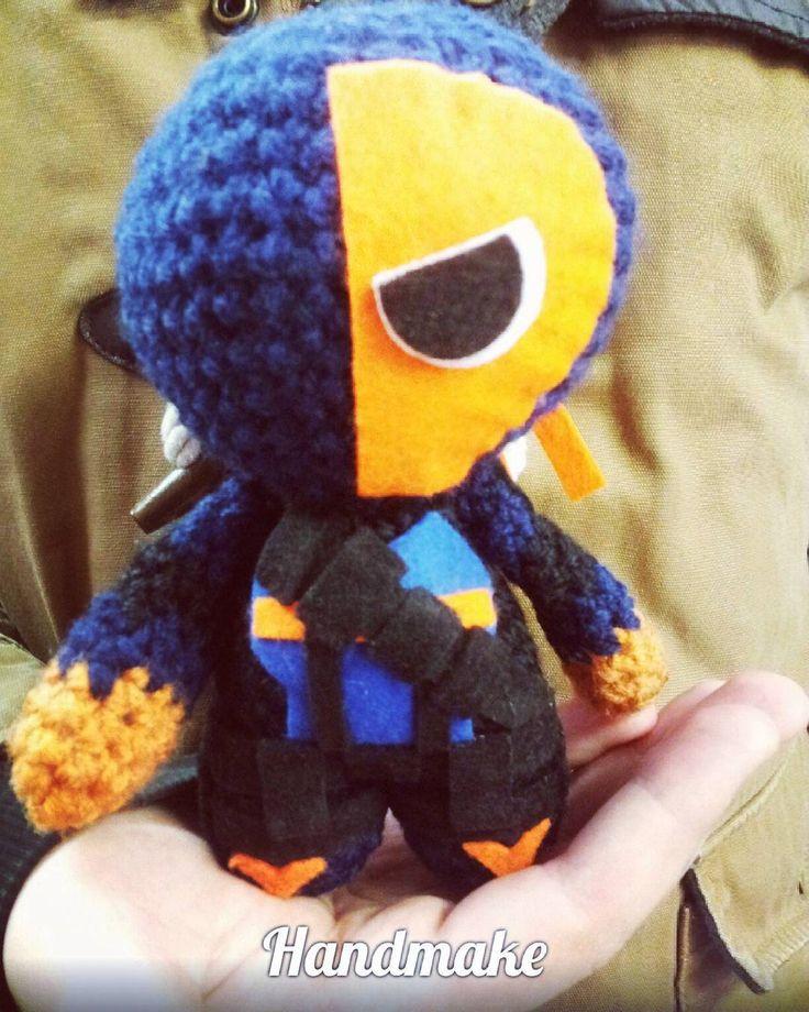 #Deathstroke #arkham #actionfigure  #handmake #handmade #crochet #instacrochet #amigurumi #dc #dccomics #Batman #Superhero #DCUniverse #etsy #toy #sladewilson #ручнаяработа #дезстроук #диси #амигуруми #игрушка #коллекционнаяфигурка #аркхэм by handmakeorgua