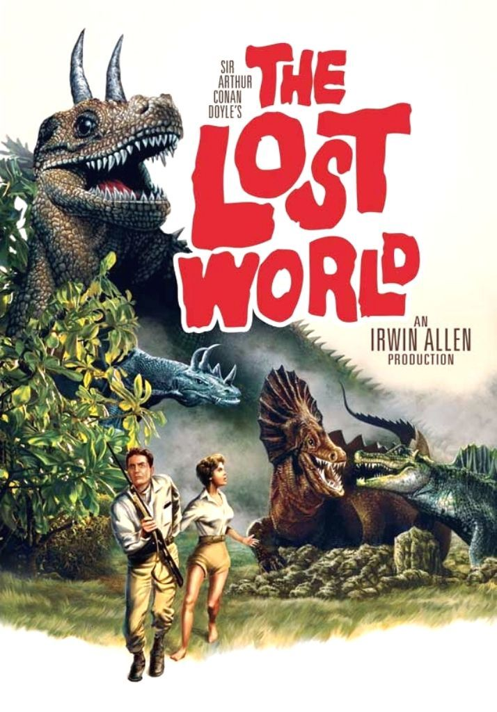 The Lost World 1960 The Lost World Old Sci Fi Movies Movie Posters Vintage