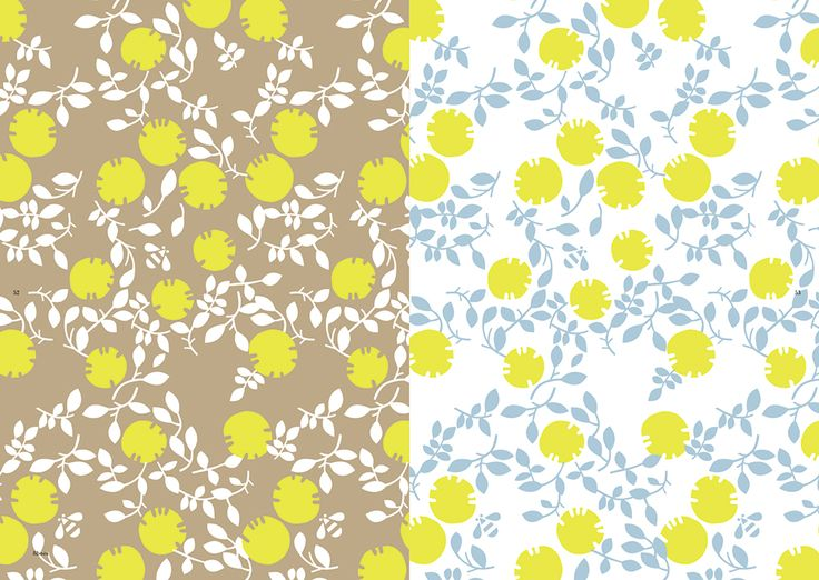 """Inside page of """"Yurio Seki's Designs and Patterns"""" #Pattern #GraphicDesign #Textile #YurioSeki"""
