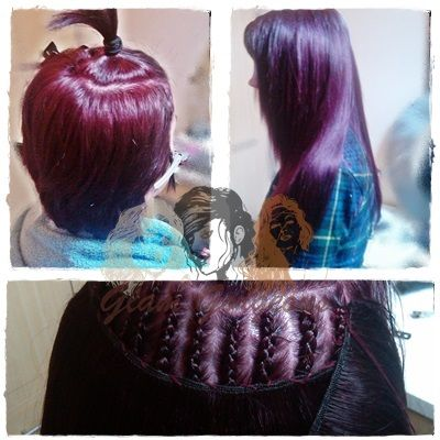 48 best hair extensions weaves images on pinterest hair partial weave european plum coloured extensions plumhair extensions pmusecretfo Images