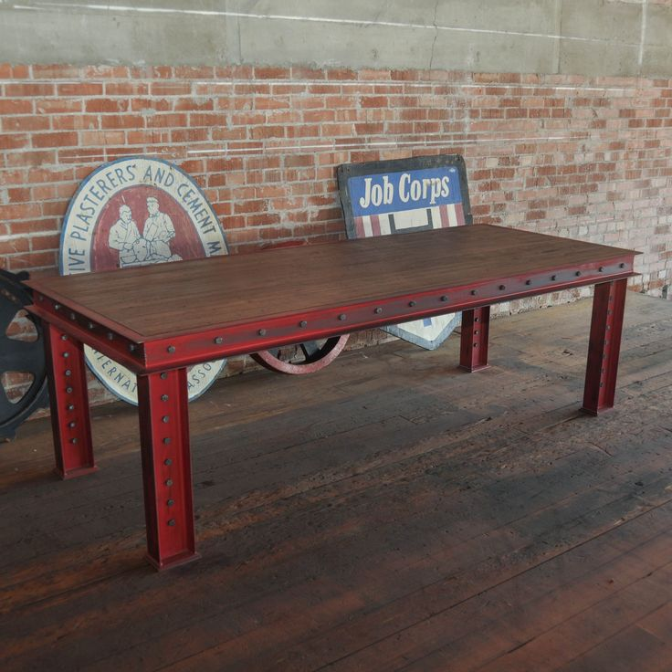 Firehouse dining table / desk, by Vintage Industrial in Phoenix...