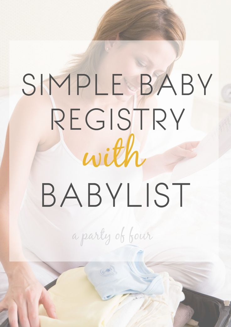 Best Baby Registry Lists Images On   Baby Newborn