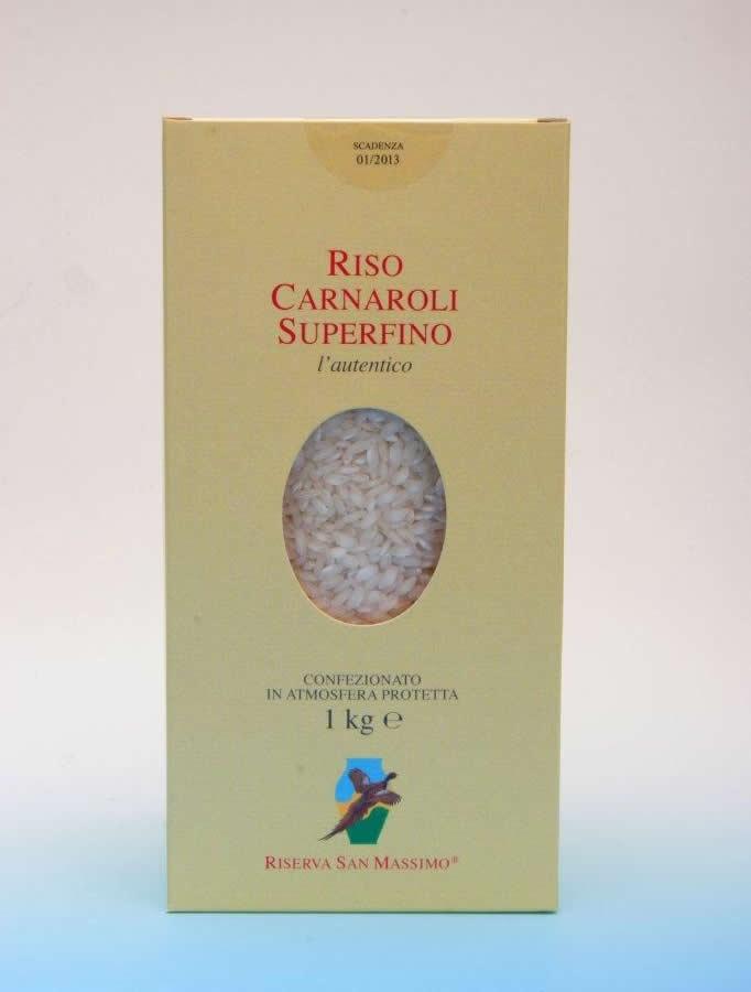 Riserva San Massimo - produzione riso carnaroli superfino e tutela della biodiversità